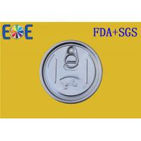 Buy cheap Drinks Tin Can Lids 307# Pop Top Can Lid , Aluminum Easy Open Caps from wholesalers