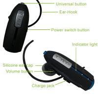 Buy cheap Black Stereo Mono Bluetooth Headset Ear Hook With Chipset BCM20771 from wholesalers