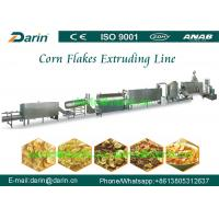Buy cheap Breakfast Cereal Corn Flakes Processing Line , chocolate chip bread machine product