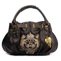 Buy cheap Juicy Couture Heritage Crest Free Style Leather Handbag Brown from wholesalers