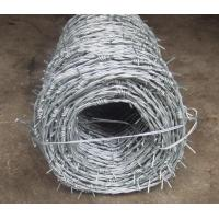 Buy cheap Galvanized Barbed Wire product