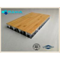 Buy cheap Noise Proof Heat Insulated Aluminum Honeycomb Core Panels For Decoration Industries from wholesalers