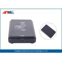 Buy cheap Micro Power USB RFID Scanner RFID Card Reader Writer SDK And Testing Software Provided from wholesalers