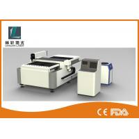 Buy cheap Semi Automatic CNC Laser Cutting Machine , Double Driving Metal Sheet Cutter from wholesalers