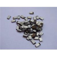 Buy cheap High Erosion Resistant Tungsten Carbide Saw Tips High Toughness Anti Corrosive from wholesalers