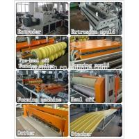 Buy cheap pvc asa roof corrugated tile sheet extrusion machine from wholesalers