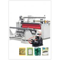 Buy cheap Maximum Width 1600mm Kraft Paper Slitting And Rewinding Machine Precision ± 0.1mm from wholesalers
