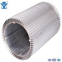 China 6063-T6 Anodized White Aluminum Heat Sinks on sale