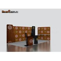 Buy cheap Portable Aluminum Tension Fabric Booth / Custom Trade Show Booth Design from wholesalers