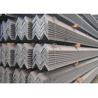 Buy cheap Stable Structure Hot Rolled Angle Steel Length 5.8M High Mechanical Strength from wholesalers