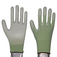 Buy cheap 15g nylon nitrile coated glove dotted glove from wholesalers