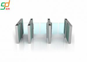 China 24v Electronic Automatic Supermarket Swing Barrier Gate Wicket Turnstiles on sale