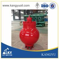 Buy cheap Mud pump spare parts red color pulsation dampener assemble from wholesalers