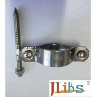 Welding Connection Industrial Pipe Clamps , Standoff Pipe Clamps With Anodization Surface Finishing