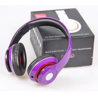 Buy cheap EB201 Super Bass HiFi Wireless Bluetooth Headset like Beats by dr dre Hands-free With Mic Support TF Card, FM Radio from wholesalers