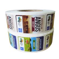 Buy cheap Adhesive Custom Printed Custom Product Labels Waterproof On Rolls For Food Packaging from wholesalers