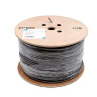 Buy cheap PE Insulation Network Cat5e Sftp Cable / 100% Copper Lan Cables 305 M / Roll from wholesalers
