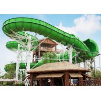 Buy cheap Large durable Custom Water Slides / Profitable water amusement play equipment for families by raft or body from wholesalers