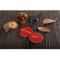 Buy cheap PVC Ntag216 Epoxy NFC Tag RFID HF Inlay with 3M adhensive tape from wholesalers