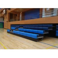 Buy cheap Elevated Retractable Stadium Seating Systems Anti - Slip For Sport Center from wholesalers