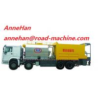 Buy cheap SHMC Bitumen Sprayer Tank Truck Road Synchronous Chip Sealer Asphalt Pitch from wholesalers