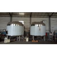 Buy cheap 1000L mash lauter tun, brew kettle, 1000L boiling kettle , hot liquor tanks with the insulation layer from wholesalers
