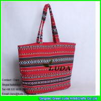 Buy cheap LDFB-001 red extra large beach tote bag foldable promotion fabric tote sadu bag from wholesalers