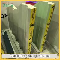 Buy cheap Clear Sticky Back Plastic Adhesive Film Sandwich Panel Surface Protective Foil Anti Dust from wholesalers