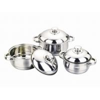 Buy cheap cone-shape 3/4pcs cookware set / cooking pot from wholesalers