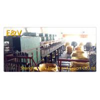 Buy cheap Small High Capacity Vertical Brass Casting Machine PLC Control For 8mm Brass Rod from wholesalers