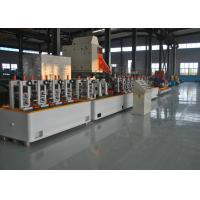 Buy cheap Fully Automatical Precision Erw Tube Mill , High Speed MS Pipe Making Machinery from wholesalers