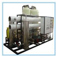 Buy cheap smart movible seawater desalination reverse osmosis ro water purifier system for industiral drinking from wholesalers