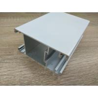Buy cheap T5 / T6 Powder Coated Aluminum Extrusions Adhesion Resistance from wholesalers