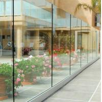 Buy cheap Top grade u channel glass balcony guard railing from wholesalers