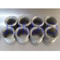 Buy cheap Compressed Metal Knitted Mesh Filters Rings Shape Gaskets With Copper Material product