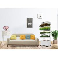 Buy cheap Automatic Watering LED Hydroponic Flower Pot Embellished Design For Home Environment from wholesalers