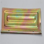 Buy cheap Lightweight Galvanized Steel Parts , Zinc Plating Steel Sheet Bending Parts from wholesalers