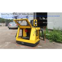 Buy cheap Small CNC Machines for Education / Matel Bench top CNC machines  made in China Color:yellow from wholesalers