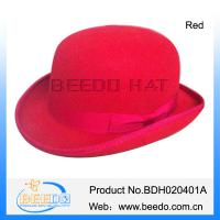 Buy cheap New products brown top hat wholesale made in china from wholesalers