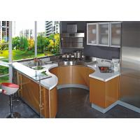 Buy cheap European style modern flat pack kitchen /ready made kitchen cabinets/high quality melamine MDF kitchen,MADE IN CHINA. from wholesalers