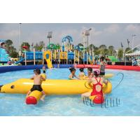 Buy cheap Inflatable water toys wholesale price dophin inflatable water seesaw,inflatable water sport toy/game from wholesalers