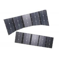Buy cheap 20v 100w Foldable Solar Panel For Solar Power System 142x30cm Unfolded Dimension from wholesalers