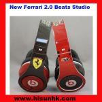Buy cheap Black/ red New Ferrari 2.0 monster beats studio headphones by dr dr e from wholesalers