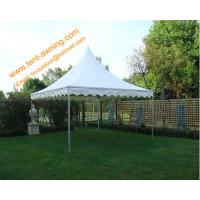 Buy cheap High Peak Pole Tent, fireproof PVC, 3x3m, 4x4m, 5x5m, 6x6m, Rental  Tent from wholesalers