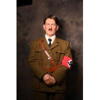 Buy cheap High Emulation Hitler Silicone Celebrity Wax Figures For Hitler Historical Museum from wholesalers