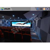 Buy cheap Attractive 5D Theater System 4DOF Motion Chairs With Special Effect product