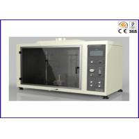 Buy cheap UL 94 Vertical And Horizontal Flammability Tester With Flame Height 20 ± 2mm from wholesalers