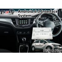 Buy cheap Android Auto Interface for Opel Crossland X Intellilink System 2014-2018 , Mirror link from wholesalers