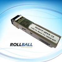 Buy cheap 1600 nm 80km 1.25G DWDM Fiber SFP Transceiver Module With ITU.T C / L Band from wholesalers