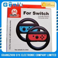 Buy cheap Colorful Joy Con Steering Wheel / Playstation 4 Racing Wheel For Switch Racing Game from wholesalers